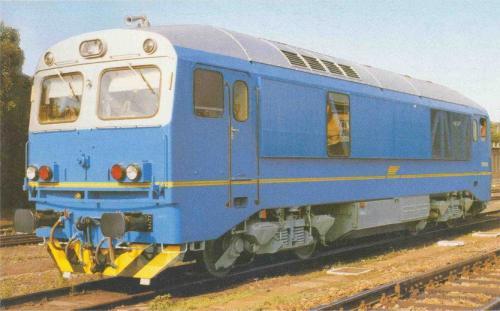 Ganz mozdony DHM-14 Csörgő (tunéziai export)